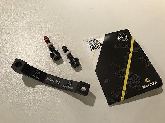 Magura Adapter QM44 PM/PM 180->203mm *NEU*