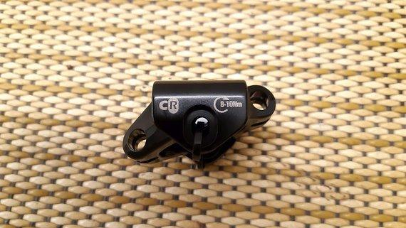 9Point8 Sattelklemmung für ovale Carbon Sattelstreben