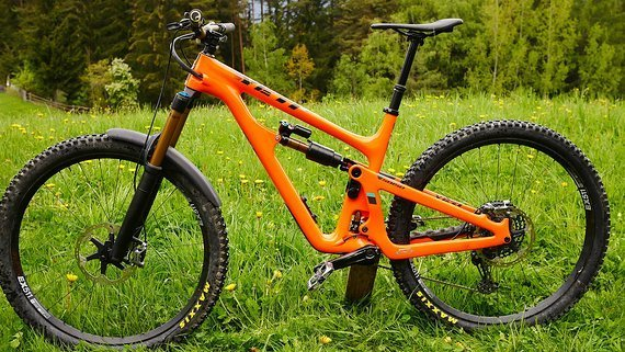 "Yeti SB150 Turq Carbon 29"" Rahmenkit Modell 2019 Gr. L SB 150"