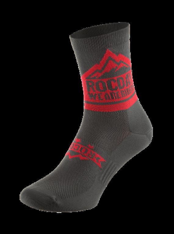 Rocday TRAIL Socks Red, Gr. S/M