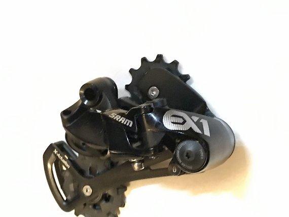 SRAM EX1 Schaltwerk - 8-fach - schwarz - E-Bike Schaltung