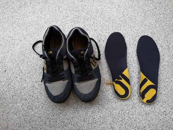 Five Ten Freerider UK 11 EU 46 US 12 CM 300 Night Grey/Core Black/Semi Solar Yellow // Freeride 5.10 FiveTen Schuhe shoes