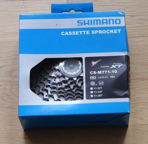 Shimano CS-M771-10 11-36