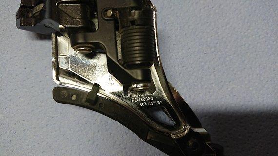 Shimano FD-M 8020 XT Umwerfer Side Swing Direct Mount 2x11 Front Pull