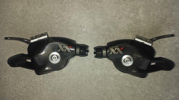 SRAM XX 10-fach Schalthebel Trigger Set