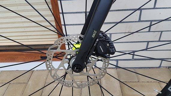Cube Attain GTC SL Disc Carbon Yellow