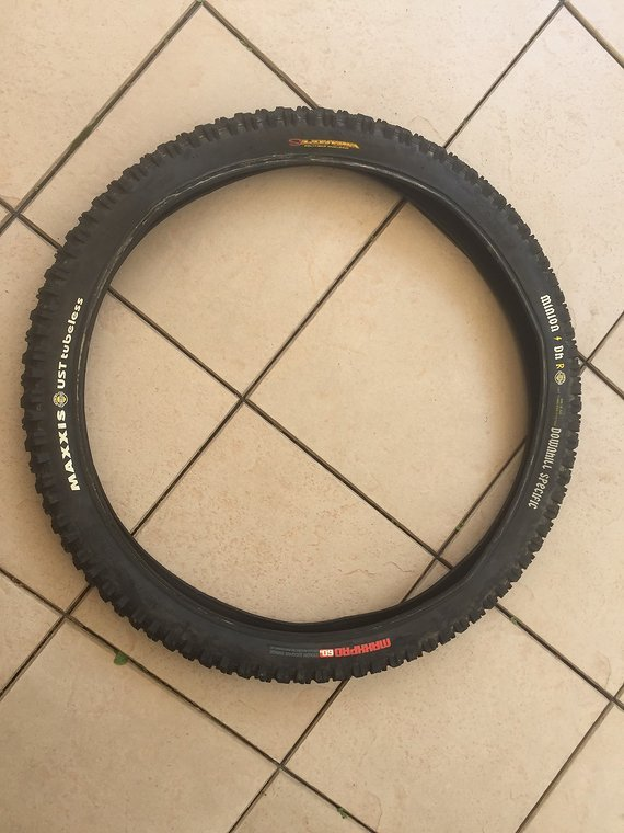 Maxxis Minion DHR UST tubeless Maxxpro 60a Silkworm 26x2.50