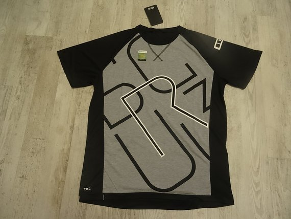 ION Tee SS Letters Scrub Amp Gr.XL