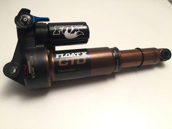 Fox Float X CTD Kashima Dämpfer NEU 216mm x 63mm