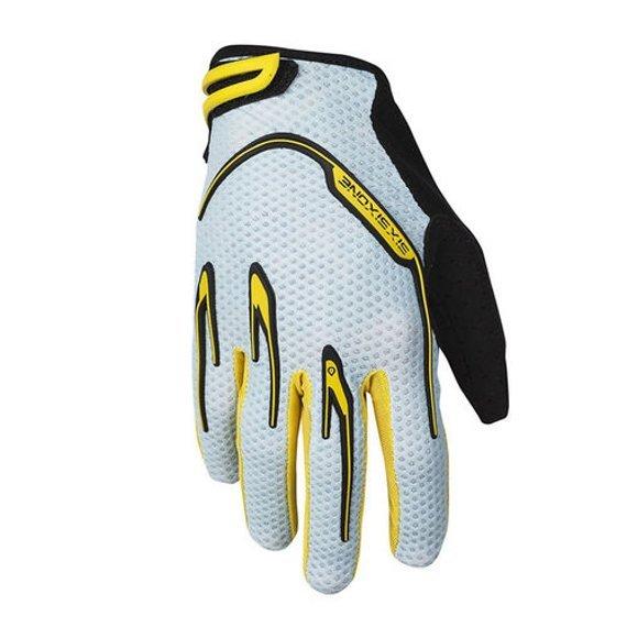 661 SixSixOne Recon Gloves / Handschuhe yellow/grey Gr. XL *NEU*