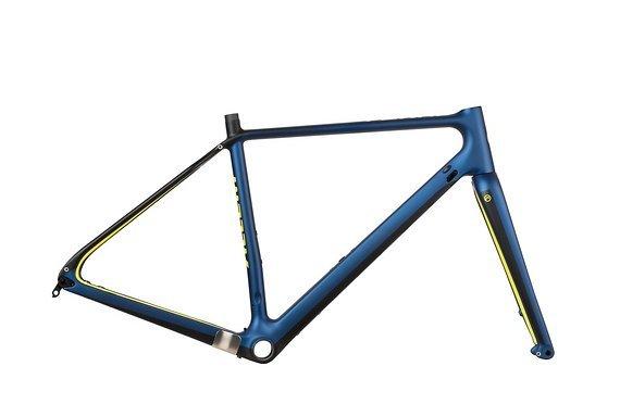 Accent Feral Carbon, Blau, Gravel Rahmen, Gr. S