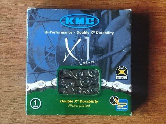 KMC Kette KMC X1 Silver 110 Glieder