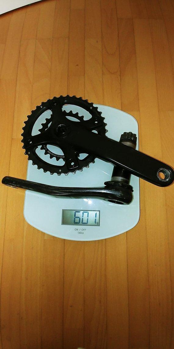 Sram Xx 175Mm Kurbel Bb30 38/24 Gewichts optimiert mit Bor kettenblatt und Schrauben nur 600g