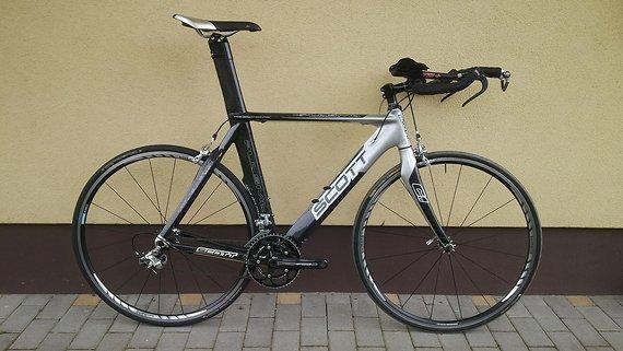 Scott CR1 Plasma Pro - Triathlon - Zeitfahrrad - Shimano Ultegra
