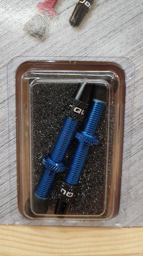 Tubeless Ventile (PAAR) in blau