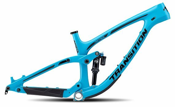 Transition Patrol Carbon Rahmen, Small, blau, 2019, neu