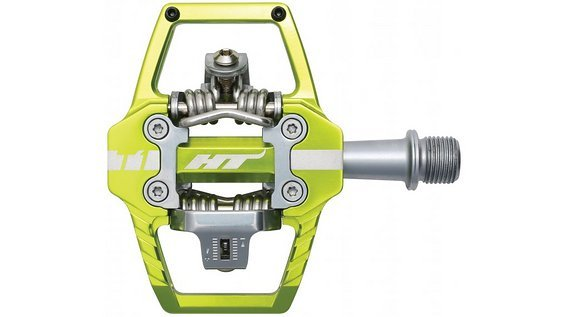 HT T1 Enduro Race Pedale NEU apple green