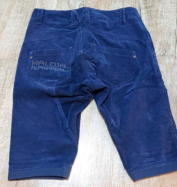 Maloja Alp Appeal Damen Streetwear Shorts Gr. M - cord - blau