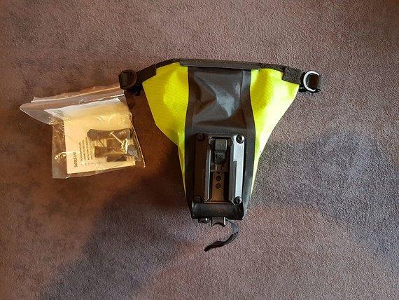 Ortlieb Saddle-Bag S (0,8l) GRÜN wie neu!