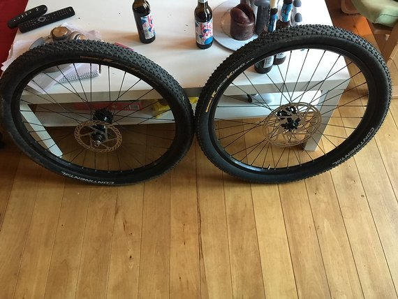 "Alexrims Supra 26"", Dirt // 4x Laufradsatz, inkl. Continental Race King 2,2"
