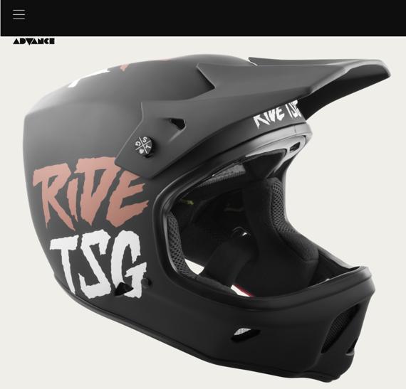 TSG Full Face Helm Advance Graphic Design L