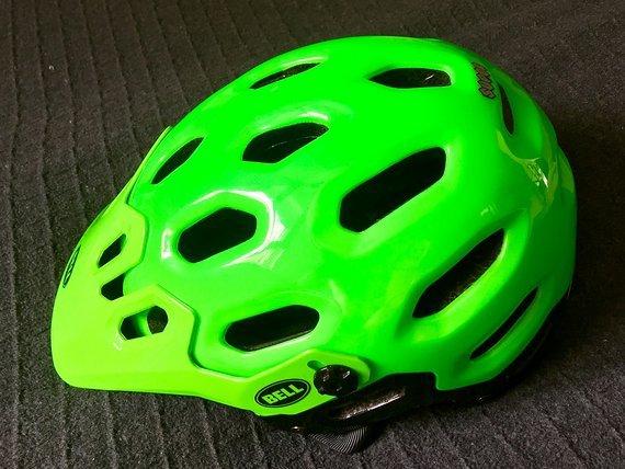Bell Super AllMountain/Enduro-Helm [neuwertig/Ersatzhelm/grün]