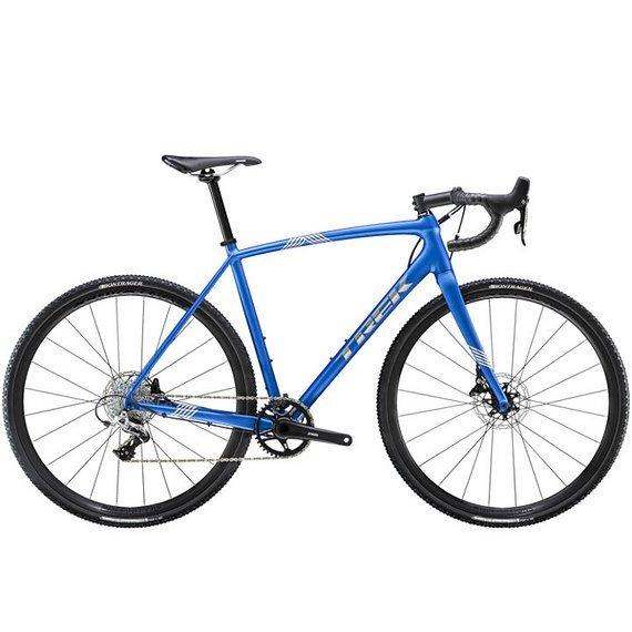 Trek Crockett 5 Disc Cyclocross 2020 - matt alpina blue 54