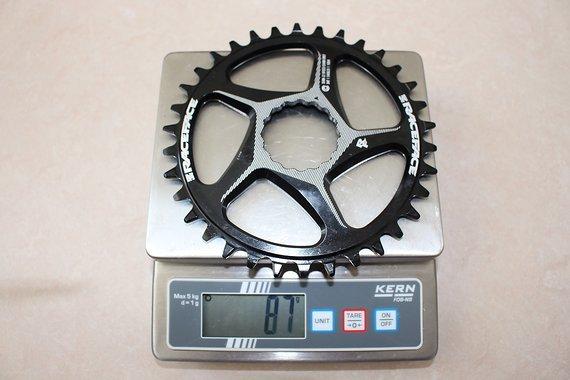 Race Face Direct Mount 10/11/12-fach Kettenblatt oval für Shimano