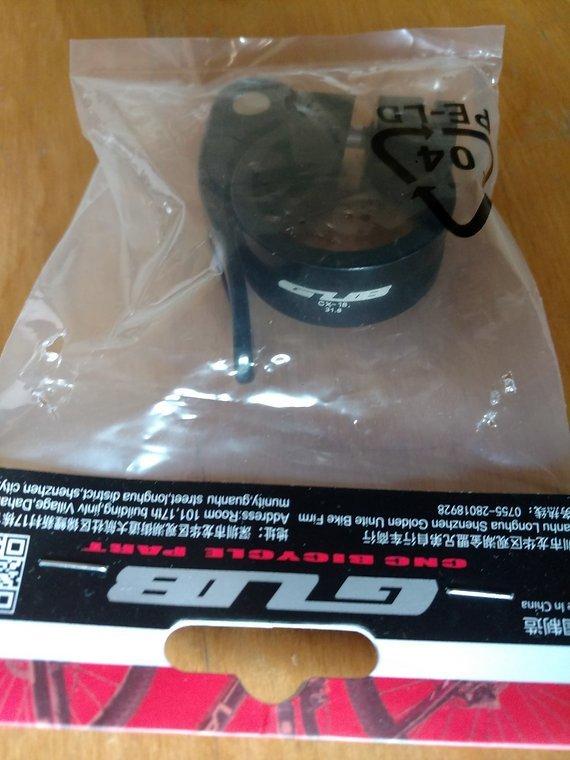 GUB Sattelklemme 31,8mm (für 27,2mm Sattelrohr) OVP