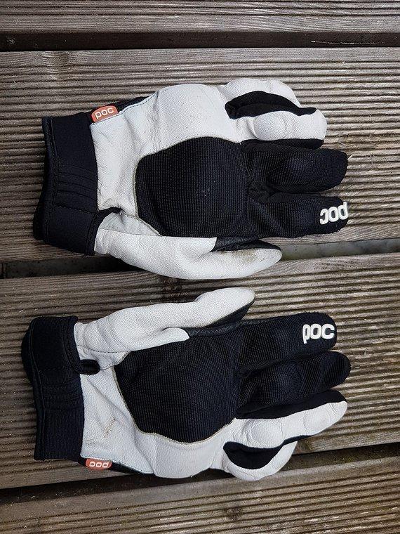 POC DH Handschuhe M Leder