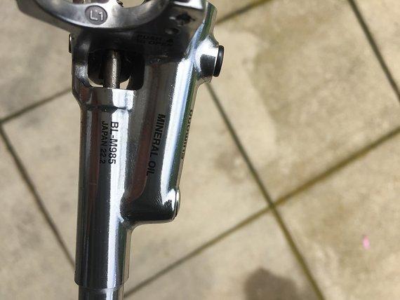 Shimano Bremshebel XTR BL-M985