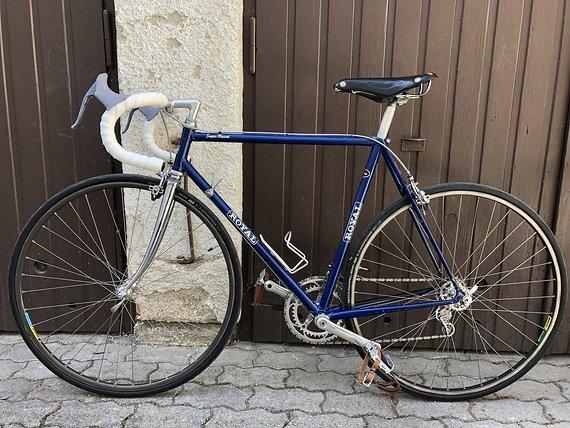Royal Rennrad Mit Campagnolo Vintage Royal Rennrad mit Campagnolo