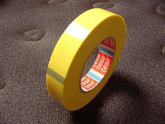 Tesa 4289 Felgenband 25mm(66 Meter) Tubless Yellow-Tape