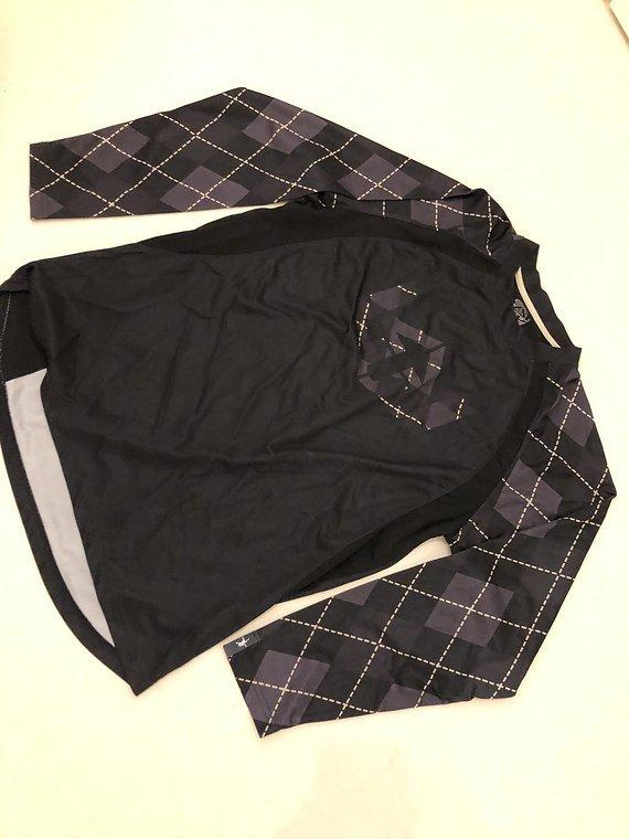 Royal Freeride/ Enduro Trikot Jersey Schwarz Größe M Langarm