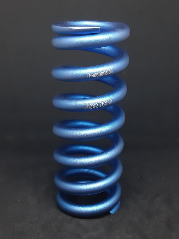 Ti-Suspension TITAN Feder blau 400x2,75 ROCK SHOX 222x70