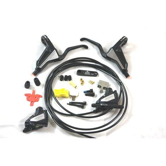 Shimano Metrea U5000 Scheibenbremsset vo + hi ohne Bremsscheiben