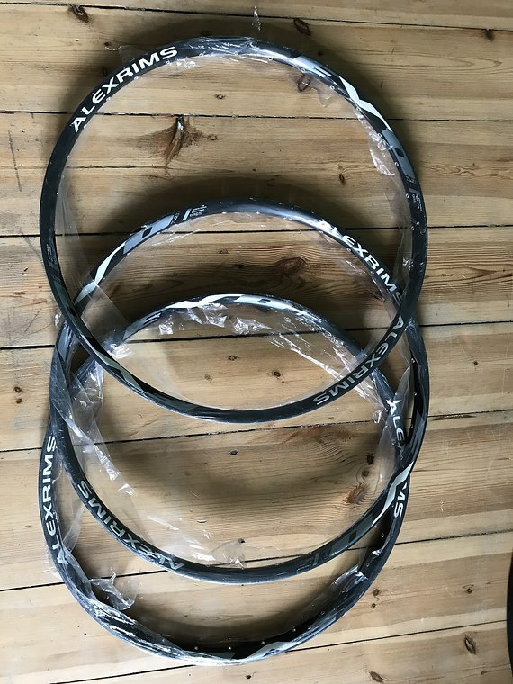 Alexrims EVO 2.3 Felgen 3xStück Neu 650b 32 Loch / Tune it Mavic DT