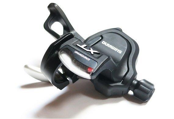 Shimano Schalthebel links | 2- oder 3-fach umschaltbar | aus 10-fach-Set | Shifter Shimano Deore XT SL M780