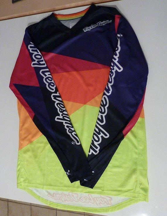 Troy Lee Designs Downhill Jersey Gr. M Sprint