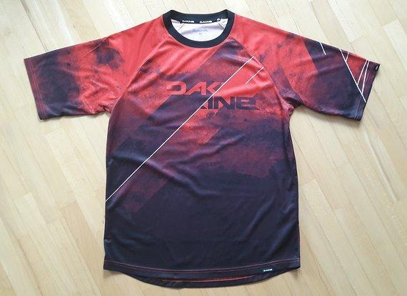 Dakine Shirt M Neu! rot/schwarz