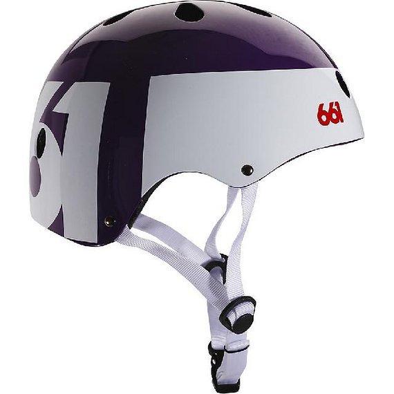 661 SixSixOne Dirt Lid Helm Purple OS *NEU*