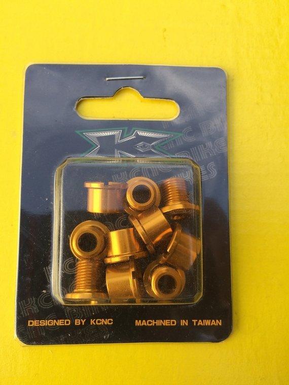 Kcnc Kettenblattschrauben 5 stück Gold