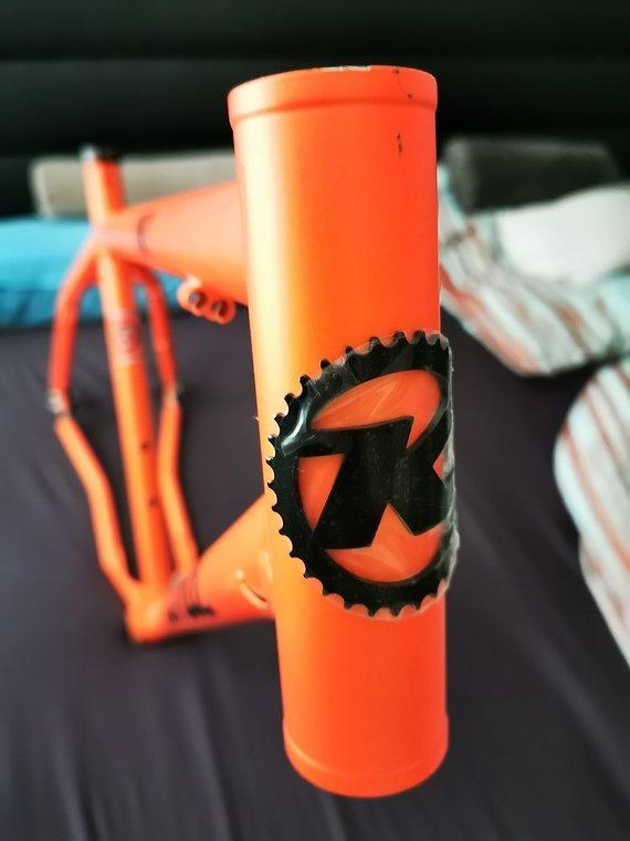 "Kona Unit 29"" 2012 L 20"" Orange Rahmen mit diversen Teilen"