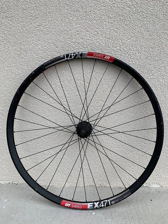 DT Swiss EX 471 Laufradsatz 650b/27,5 VR 20x110 HR 12x142 DT 240S Naben