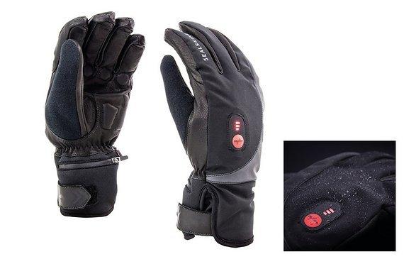 Sealskinz Handschuhe Cold Weather Heated Cycle inkl. Wärme Akku