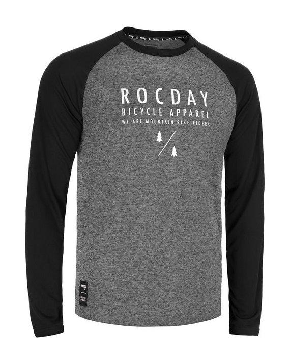 Rocday MANUAL Jersey SANITIZED®, Melange/White, Gr. M