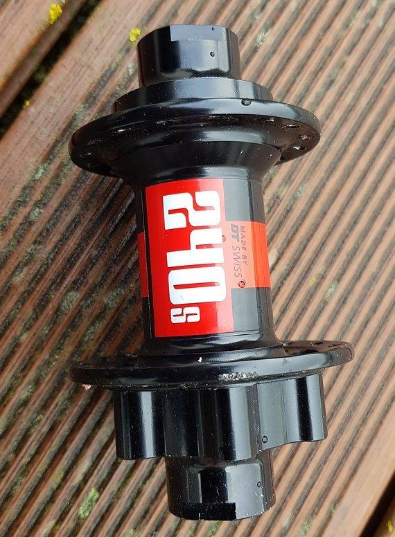 DT Swiss 240 S MTB OS Vorderradnabe QR20 Disc 6 Loch 32 Loch