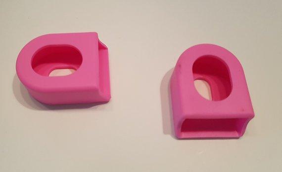 Silicone flex-protect Kurbelschützer Crank Boots *pink*