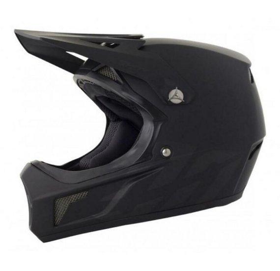 Shot Racing Rogue, downhill bmx helmet flat black