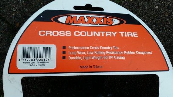 Maxxis Maxxlite 29 Zoll Crosscountry 29-2.0 170 Tpi